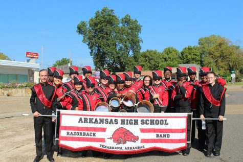 A-High Band Rallies at Four-States Parade:
